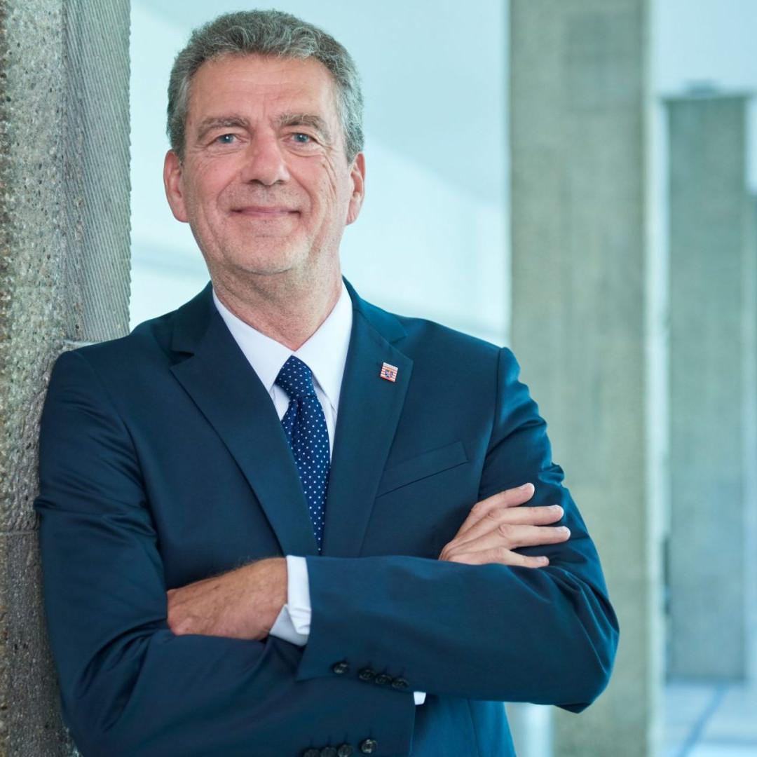 Staatssekretär Dr. Martin J. Worms, Hessisches Ministerium der Finanzen